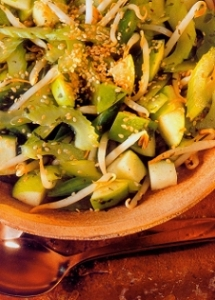 green-sesame-salad