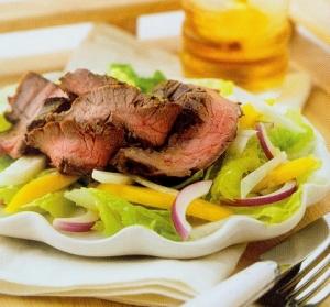 mango-steak-salad
