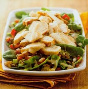 spinach-lentil-salad