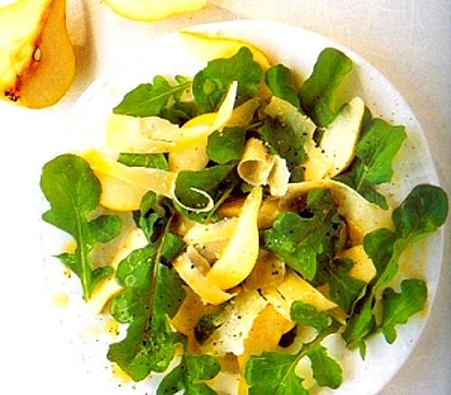 Arugula, Pear and Parmesan Salad Recipe
