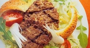 Rockburger Salad with Sesame Croutons Recipe