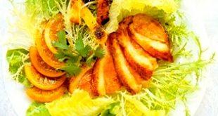Warm Duck Salad with Orange and Cilantro