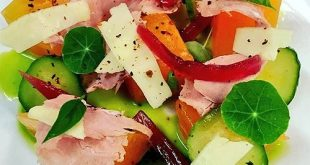 Ham and Cantaloupe Salad Recipe