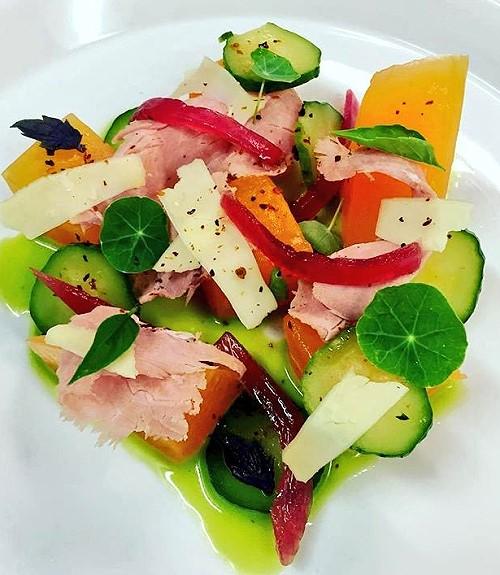 Ham and Cantaloupe Salad Recipe