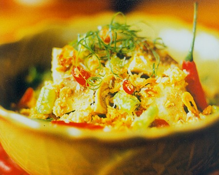 Chicken Vegetable Salad