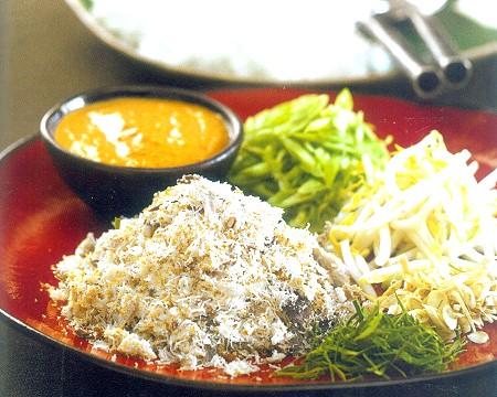 nasi kerabu salad