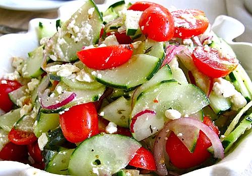 Cheesy and Spicy salad Recipe