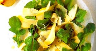 Arugula, Pear and Parmesan Salad Recipe
