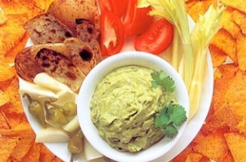 Guacamole Salad Dip Recipe