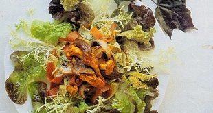 Wild Mushroom Salad with Prosciutto Recipe