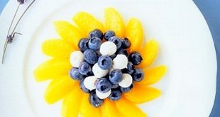 Blueberry, Orange, and Lavender Salad Recipe