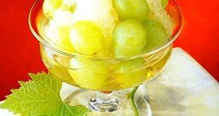 Muscat Grape Frappe Recipe