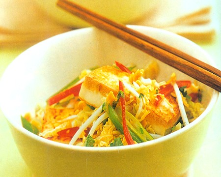 asian tufo salad recipe