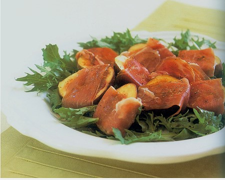 prosciutto and figs salad