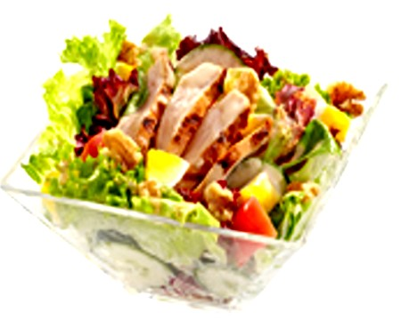 Grilled Chicken Salad With BBQ-Mayo Dressing2