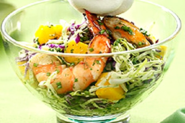 chive up seafood salad