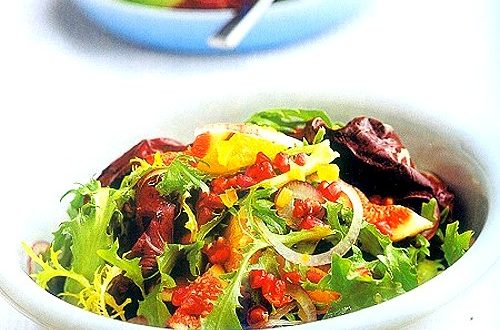 Radicchio with Figs and Ginger Vinaigrette Recipe