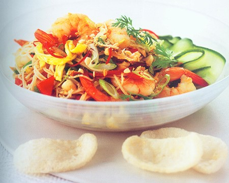 indonesian shrimp salad