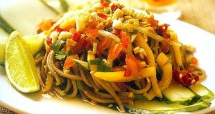 Soba, Mango and Cucumber Salad