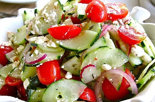 Cheesy and Spicy salad Recipe